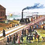 Почему железная дорога из Петербурга в Москву прямая?