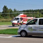 В Хелипарке «Подушкино» продемонстрировали новое вертолетное такси
