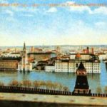 Весеннее половодье. Как Москва тонула, превратившись в Венецию?